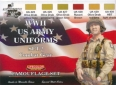 Set colores camuflaje LifeColor CS18 WWII US ARMY UNIFORMS SET2 Combat Gear