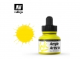 Vallejo Acrylic Artist Ink 60002 ProcessYellow (30ml)