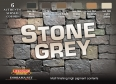 Set colores temáticos LifeColor CS40 STONE GREY