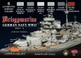 Set colores camuflaje LifeColor CS09 GERMAN NAVY WWII SET1 Kriegsmarine