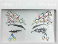 Face Crystal sticker Gem Jewelry LS1002