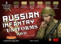 Set colores temáticos LifeColor CS42 - Russian Infantry Uniforms