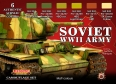 Set colores camuflaje LifeColor CS23 SOVIET WWII ARMY