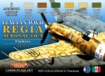 Set colores camuflaje LifeColor CS19 REGIA AERONAUTICA WWII SET1 FIGHTERS