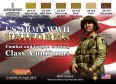 Set colores camuflaje LifeColor CS17 WWII US ARMY UNIFORMS SET1 Combat and fatigue clothing Class A uniforms