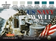 Set colores camuflaje LifeColor CS24 US NAVY WIISET1