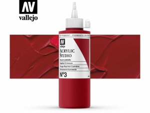 Vallejo Acrylic Studio 22003 Naphtol Crimsom (200ml)