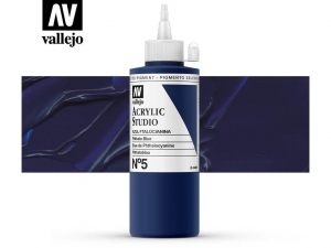 Vallejo Acrylic Studio 22005 Phtalo Blue (200ml)