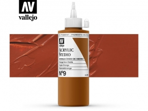Vallejo Acrylic Studio 22009 Mars Orange (200ml)