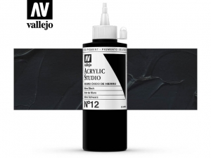 Vallejo Acrylic Studio 22012 Mars Black (200ml)