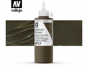 Vallejo Acrylic Studio 22017 Raw Umber (Hue) (200ml)
