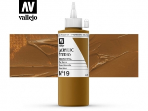 Vallejo Acrylic Studio 22019 Raw Sienna (Hue) (200ml)
