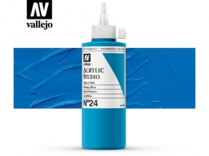 Vallejo Acrylic Studio 22024 Primary Blue (200ml)