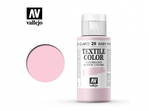 Vallejo Textile Color 40029 Baby Pink (60ml)