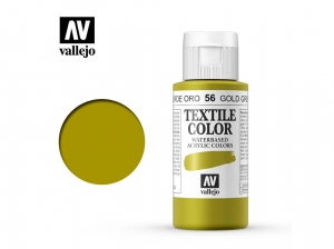 Vallejo Textile Color 40056 Gold Green (60ml)