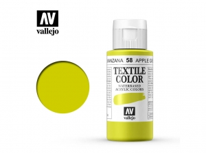 Vallejo Textile Color 40058 Apple Green  (60ml)