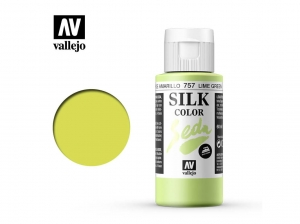 Vallejo Silk Color 43757 Lime Green (60ml)