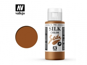 Vallejo Silk Color 43764 Chocolate (60ml)