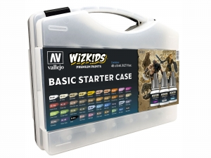 Wizkids Premium CASE by Vallejo: 80260 Basic Starter Case