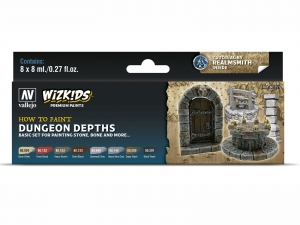 Wizkids Premium set by Vallejo: 80251 Dungeon Dephts