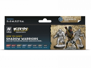 Wizkids Premium set by Vallejo: 80253 Shadow warriors