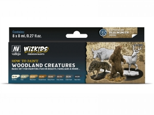 Wizkids Premium set by Vallejo: 80254 Woodland creatures