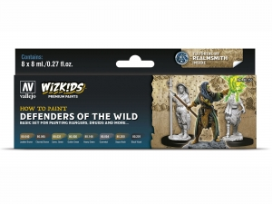 Wizkids Premium set by Vallejo: 80255 Defenders of the Wild