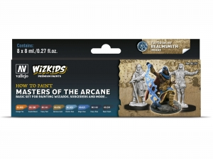 Wizkids Premium set by Vallejo: 80257 Masters of the Arcane