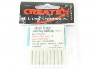 CREATEX 300692 Eraser insets soft 10pcs (for 300691)